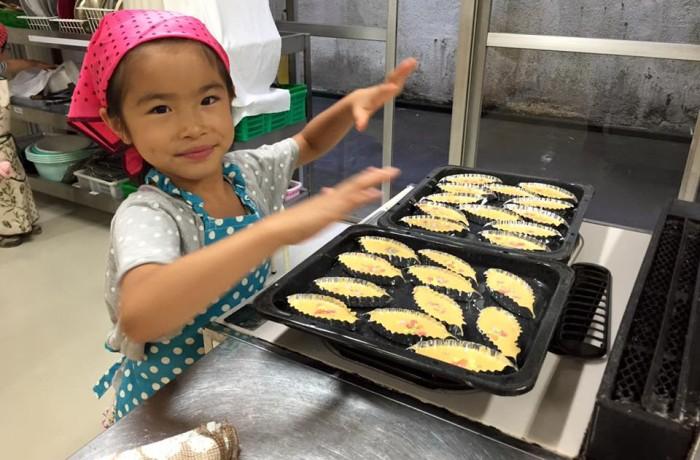 2015/7/5【終了】 親子で楽しくお菓子作り!レモンマドレーヌを作ろう