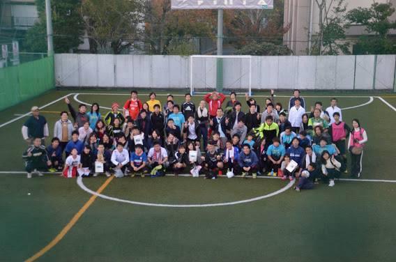 2015/11/15【終了】 Charity Futsal 男女MIX大会